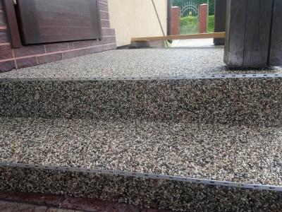 posadzka żywiczna kamienny dywan 1